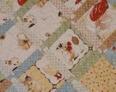"Baby Quilt in Moda Lil' Rascals Fabrics - 48"" x 56""   SALE"