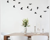 Flocked (REGULAR pack of 25 Birds) - Wall Decal