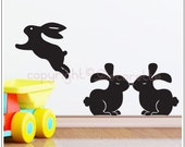 Bunny Rabbits - Wall Decal
