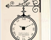 Ornamental Clockette - Real Clock Wall Decal