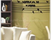 On The Line Birds - Wall Decal
