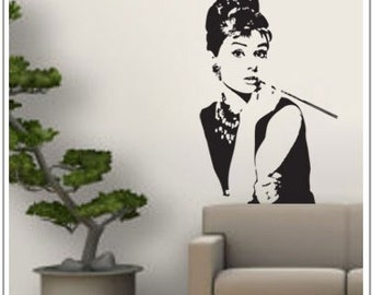 Audrey - Wall Decal