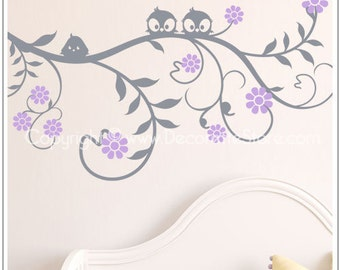 Eden Nature Floral Branch - Wall Decal