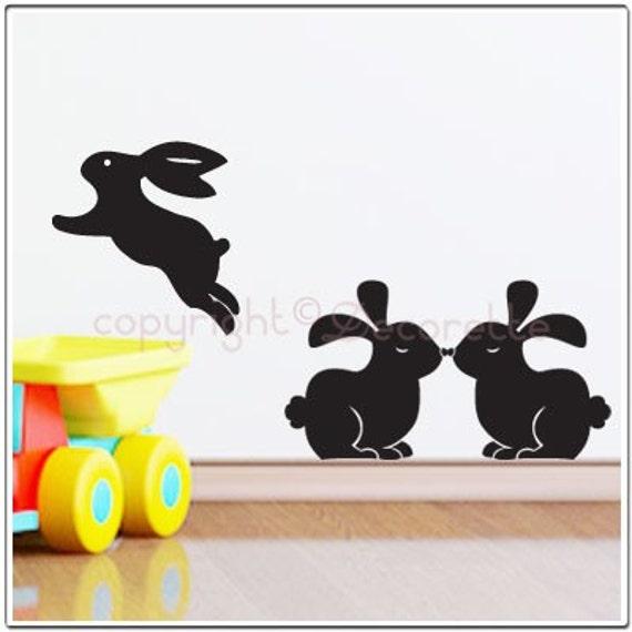 Bunny Rabbits - Wall Decal