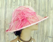 Hot Flash //  Elegant Sisal Summer sun hat
