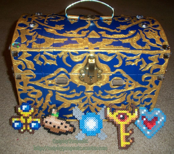 DESIREE only plz XLARGE Boss Chest And Boss Key w/lock