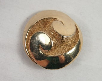 Vintage 60s Bobley Chunky Abstract Brooch Jewelry