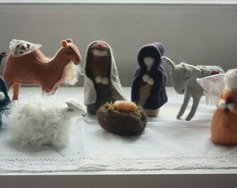 heirloom nativity - collaberative work with winsomehollow. made to order