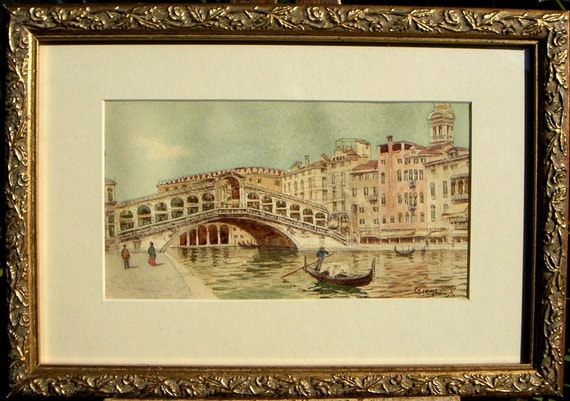 Venice Historical Painting 1910