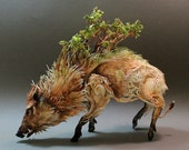 Celtic Boar with Forest
