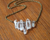 Stone Mountain Necklace - Brass