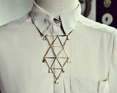 Tumbling Triangles Necklace