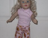 "18"" inch American Girl Doll Clothes Ruffled Boutique Pants"