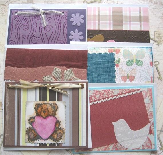 Blank Notecards - Assortment of 6