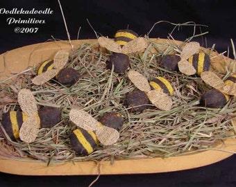 Summer Bumble Bees Bowl Filler Instant Digital Download E-Pattern  ET