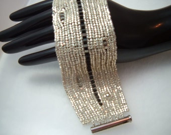 Liquid Silver Cuff