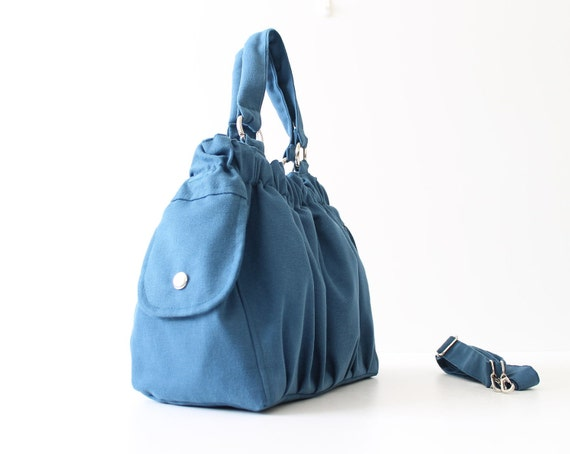 Practical Nagy Bag in Teal -medium-