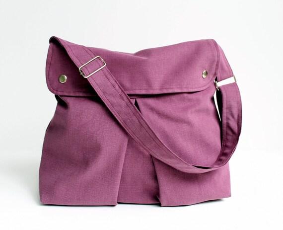 items similar to last one modular messenger bag in purple shoulder bag l. Black Bedroom Furniture Sets. Home Design Ideas