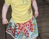 Custom skirt in Alexander Henry Koto fabric