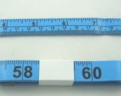 "Tape Measure Flexible Fiberglass Fabric USA 60"" - BLUE"