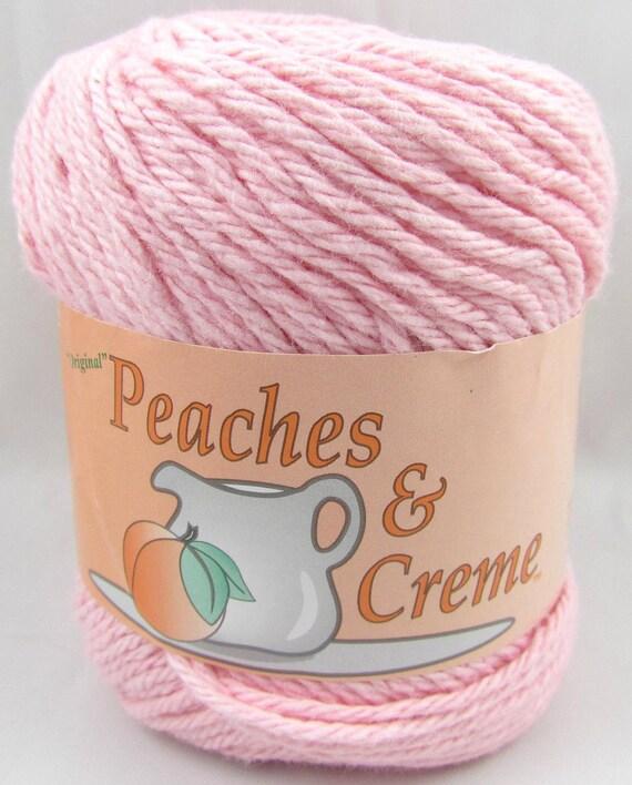 PASTEL PINK Peaches & Creme Yarn 1 Ball