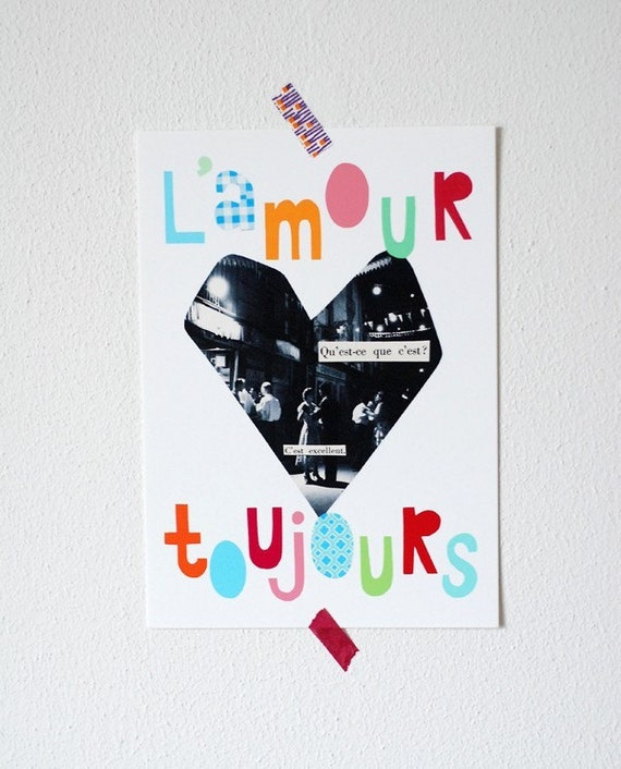 l'amour toujours print