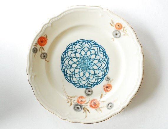 SALE Spirograph plate