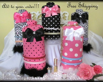 FREE SHIPPING on Headband holder with purchase of any Canopy or Boutique Accessory ADD On to your order