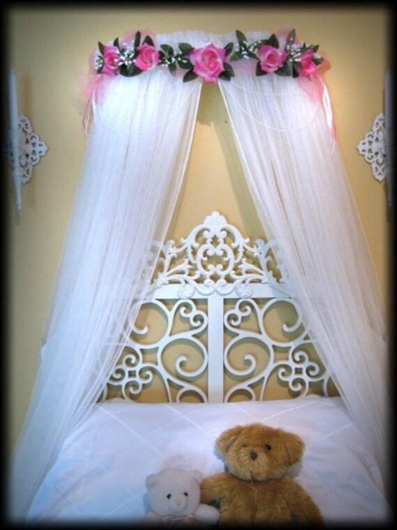 Custom boutique bed canopy princess elana girls bedding sale - Unique beds for sale ...