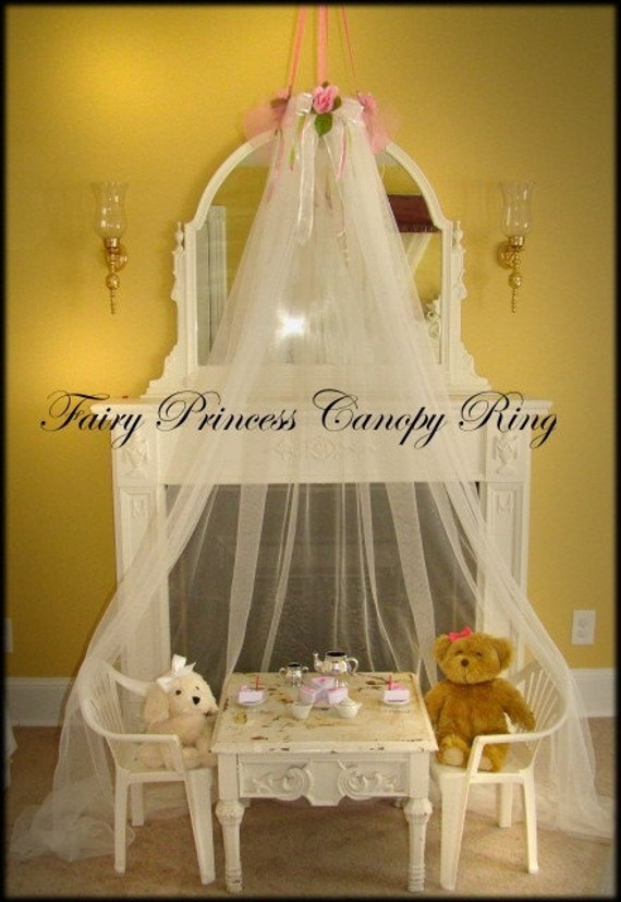 Https Www Etsy Com Listing 39521932 Fairy Princess Canopy Ring Dress Up Pink