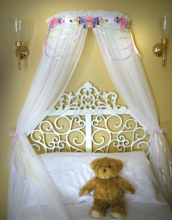CUSTOM Boutique BED Canopy PRINCESS Laurie Girls Bedding SALE