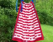 Stars and Stripes Patriotic Bandana Dress