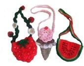 Crochet Village Keepin' Cool Purses New Pattern FREE SHIPPING