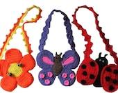 Purse Crochet Pattern,  Spring Fever Purses,  Digital Download