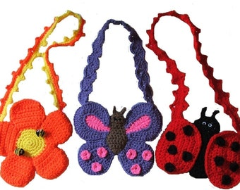 Crochet Pattern - Spring Fever Purses - PDF Download