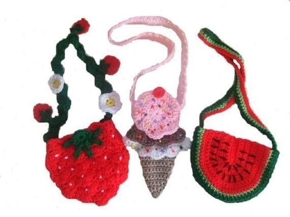 Crochet Pattern Keepin' Cool Purses, Digital Download