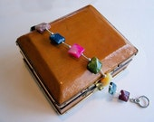 Vivid and Playful Multicolored Tonks Bracelet in African Opal and Silver