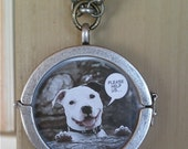 Personalized Picture Pendant Necklace-2 sided
