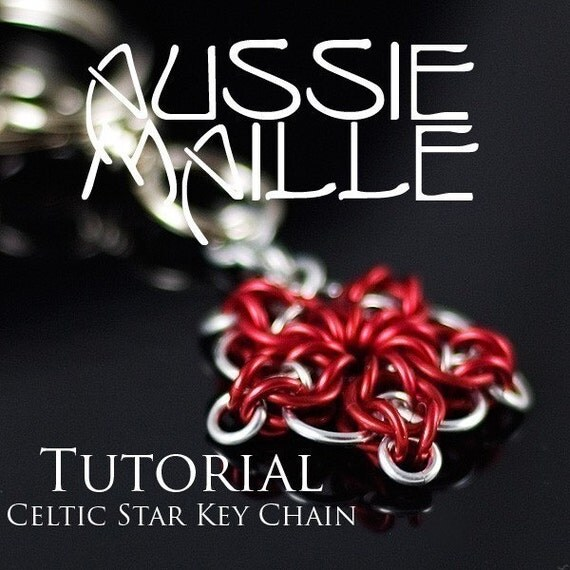 Chainmaille Tutorial - Celtic Star Key Chain