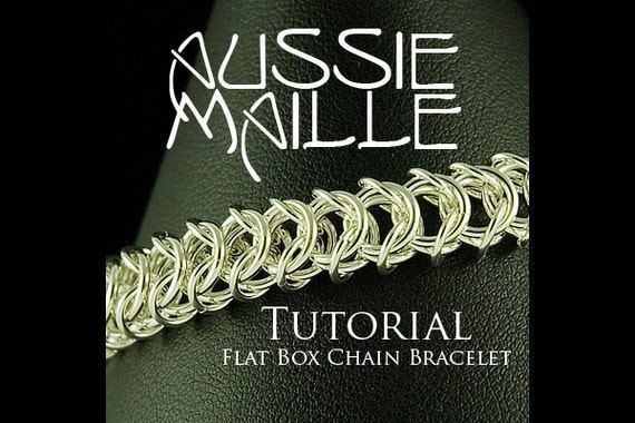 Chainmaille Tutorial - Flat Box Chain Bracelet