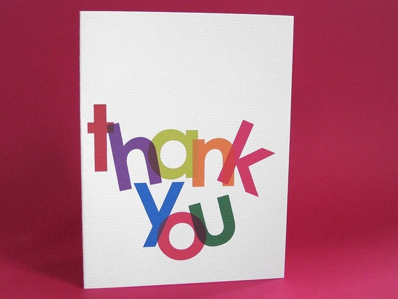 Sarcastic Thank You Card \/ Thanks for Nothing (COT-K005)