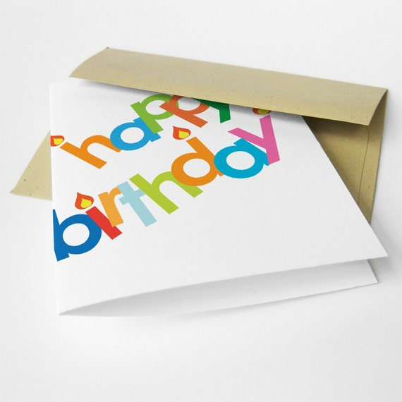 "Birthday Card, Funny, Snarky, ""Don't Break a Hip"" (CBD-E026)"