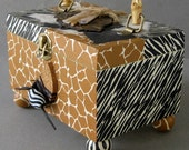 Safari Purse Keepsake Box