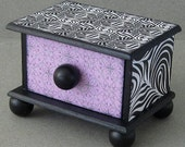 Funky Swirl Trinket Drawer