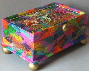 Cherie Vibrant Jewelry Box with FREE SHIPPING