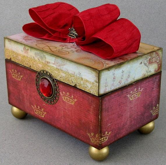 Fairytale Princess Keepsake Box