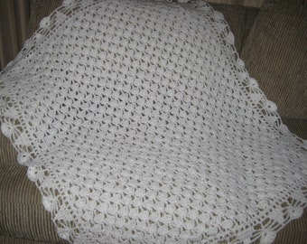 White Baby Afghan