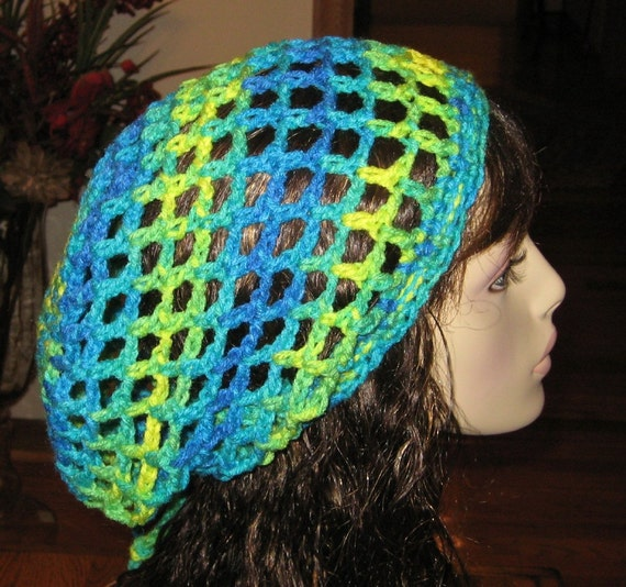 Mesh Dread Tam Hat