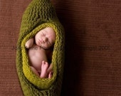 LiL Sweet Pea in a Pod Photography Prop