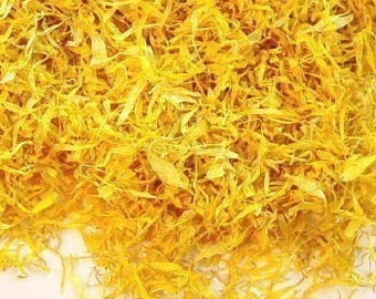 Calendula Petals - 1/4 pound - Great for soap making, infusing oils for bath and body products